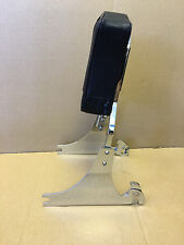 USED Detachable Sissy Bar & Backrest for Harley Softail w/ 200mm Rear Tire