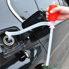 Portable Car Vehicle Manual Hand Siphon Pump Hose Gas Oil Liquid Transfer Pump
