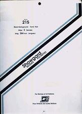 SHOWGARD BLACK 215  MOUNTS