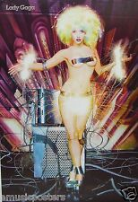 """LADY GAGA """"ELECTRIC SPARKS COMING OFF OF NUDE GAGA"""" POSTER FROM ASIA"""