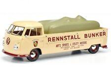 VW Volkswagen Bus T1 Bulli BUNKER Rennstall - Bunker NEW Schuco 1:18 NEU