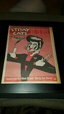 Stray Cats Built For Speed Rare Original Radio Promo Poster Ad Framed!