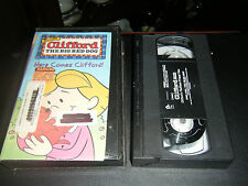 Clifford the Big Red Dog - Here Comes Clifford (VHS, 2001)