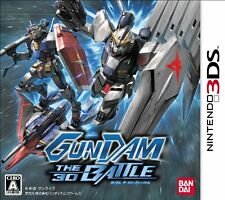 USED Gundam the 3D Battle Japan Import Nintendo 3DS