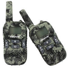 Retevis RT33 Child Walkie Talkies Camo 2-Way Radio 22CH VOX Call Christmas Toys
