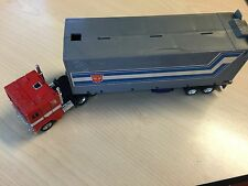 Transformers G1 1984 OPTIMUS PRIME cab & trailer made in Japan hasbro takara T4