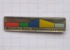 Mercedes-Benz/sistema de producción... auto-pin (124f)