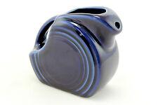 A small blue Fiesta Ware milk jug. American design.