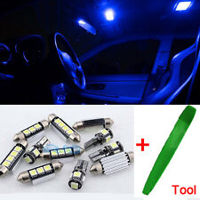 Bright Blue Interior Car LED Light Bulbs Kit For VW GOLF V MK5 2003-2008 + Tool