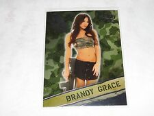 2013 Benchwarmer Bubblegum BRANDY GRACE #15 Boot Camp Insert PLAYBOY - Fokkers
