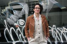 Lederjacke mit Fransen 90er True VINTAGE 90s chimayo stil cowgirl leather jacket