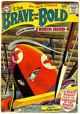 The Brave and the Bold #10 (DC 1957, fn+ ) guide value: $148.00 (£97.00)