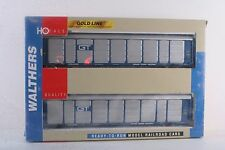 HO Walthers Thrall 89' Tri-Level Auto Carrier 2-Pack Grand Trunk Western GTW