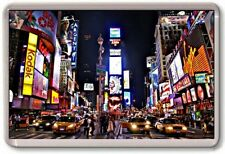 FRIDGE MAGNET - TIMES SQUARE - Large Jumbo - New York USA