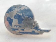 INSIGNE PINS NEUF MARINE NATIONALE NAVIRE ET SOUS MARIN DCN FRANCE TOULON PIN