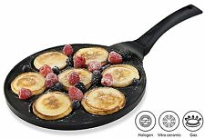 Non-stick Frying Mini Pancake Egg Omelette Crepe Pan Easy Flip Perfect Breakfast