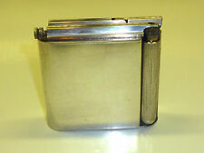 VINTAGE TRENCH ART TABLE LIGHTER - SILVER PLATED - VERSILBERT - TISCHFEUERZEUG