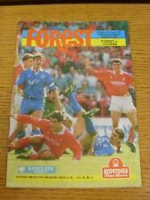 31/08/1991 Nottingham Forest v Oldham Athletic  (the item is in good/very good c