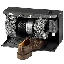 New Electric Shoe Shine Machine Cleaning Kit Polisher Buffer Brush