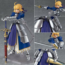 Japanese Anime Figma Fate Stay Night Saber Lily Avalon Action Figure Statue 12cm