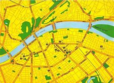 BC60253 Maps Cartes geographiques Hungaria Budapest