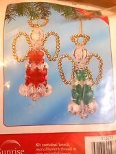 Littlest Angels Christmas Ornament Kit Beaded Decor DIY Holiday Gifts Supplies