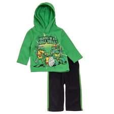 NWT Teenage Mutant Ninja Turtles Baby Boy Hoodie Sweatshirt Top Pants Outfit 18M