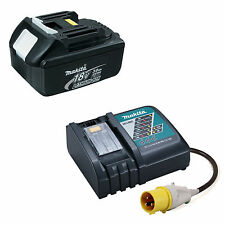 MAKITA LXT 110V DC18RC CHARGER WITH BL1830 BATTERY