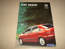 FIAT BRAVA UK SALES BROCHURE - DATED NOVEMBER 1995