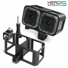 3D Frame Mount + Tripod Mount f. GoPro Hero 5 Session Zubehör Stativ Adapter