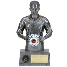 HALF PRICE  Resin Football Trophy  SIZE 19 CM 7.5 INCH FREE ENGRAVING a1514b