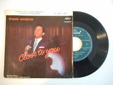 FRANK SINATRA : CLOSE TO YOU / LOVE LOCKED OUT ► EP / 45 ◄ PORT GRATUIT