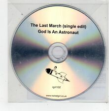 (FV561) The Last March, God Is An Astronaut - 2014 DJ CD