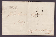 "1816  Stanraer to Dalry  boxed ""Missent to Dumfries"" Scotland Cat £150"