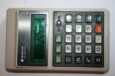 calculatrice machine à calculer année 60 vintage SANYO CX-8136ne