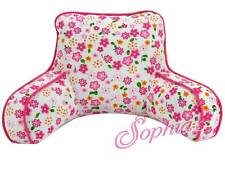 "Floral Print Back Rest Pillow TV FOR 18"" AMERICAN GIRL DOLL or other dolls"