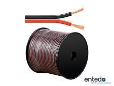 Goobay Lautsprecherkabel Boxen Kabel 2x 4mm² CCA Rot Schwarz Meterware NEU