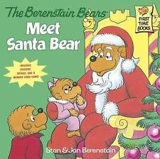 First Time Books: The Berenstain Bears Meet Santa Bear (Deluxe Edition) by...