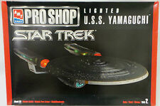 STAR TREK THE NEXT GENERATION : U.S.S. YAMAGUCHI CLEAR PLASTIC AMT/ERTL KIT (MI)
