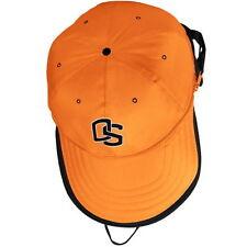 OREGON STATE BEAVERS NCAA ORANGE-BLACK BACKPACK EXPANDABLE BASEBALL CAP NWT