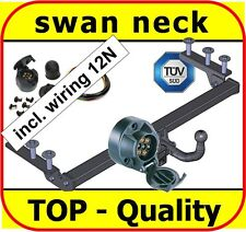 Towbar & Electric 12N Vauxhall Astra G Hatchback Saloon 1998 to 2005 / swan neck