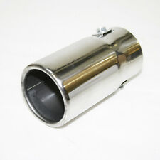 Chrome Exhaust Pipe Sport Muffler Tip For Ford Cougar Fiesta Fusion Mondeo Puma