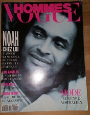 French Vogue Hommes 1993 Brian Ferry Helena Christensen Shana Zadrick Kate Moss
