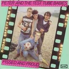 Peter & the Test Tube Babies - Pissed and Proud - 1994 Century Media Punk NEW