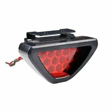 F1 Style Auto Car ATV SUV 12V LED Stop Fog Tail Brake Light Lamp Red Fairish