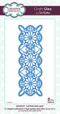 Creative Expressions STRIPLET - LATTICE & LACE CED1610 Sue Wilson Striplets Dies