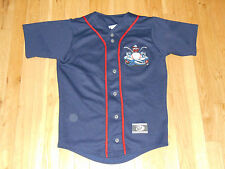 LAKEWOOD BLUECLAWS BLUE CLAWS MINOR LEAGUE A TEAM BASEBALL JERSEY YOUTH LARGE