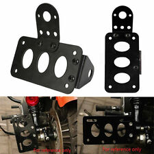 Black Motorcycle License Plate Holder License Bracket for Harley Bobber Chopper
