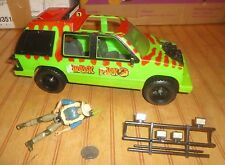 1993 Tonka Kenner JURASSIC PARK JUNGLE EXPLORER Truck SUV Vehicle as-is + Figure