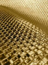 Gold Basket Weave Heavy Duty Car Vinyl Upholstery Vinyl Fabric Sold By The Yard